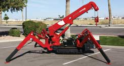 SPYDERCRANE mini crawler crane one lot