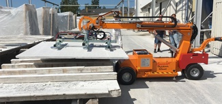 Smartlift SL 780 moving sheet of material
