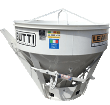 Low Boy Concrete  Bucket from Butti Attachments