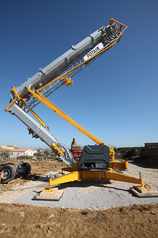 Potain Crane Parts Potain Replacement Parts